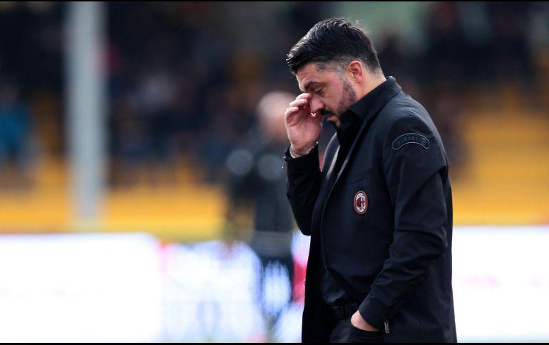 El peor equipo de Europa amargó el debut de Gattuso