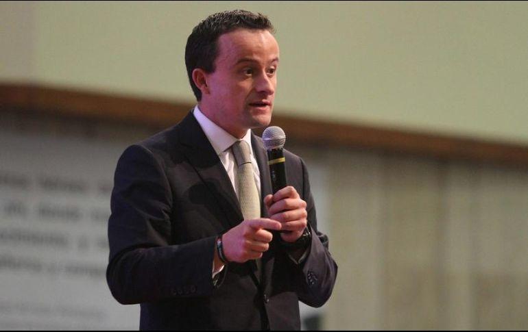 Mikel Arriola espera su futuro político en CDMX
