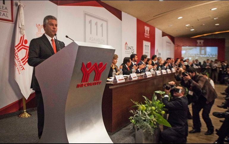 Peña Nieto encabezará la 115 asamblea del Infonavit