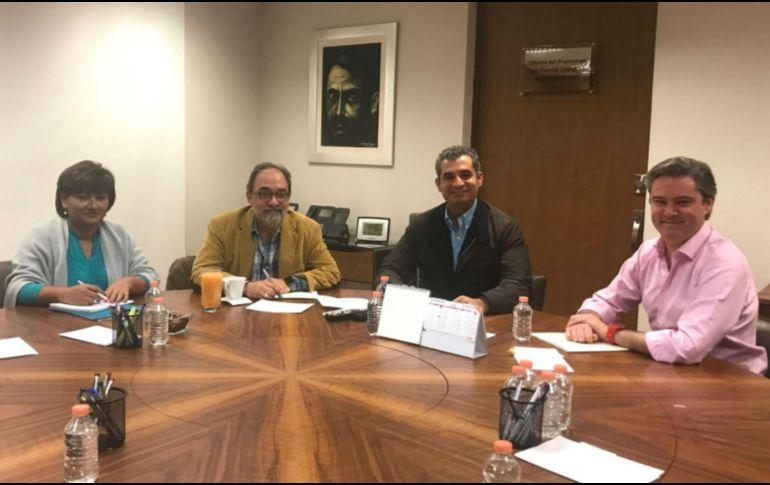 Acuerdan Nueva Alianza y PRI agenda rumbo a 2018