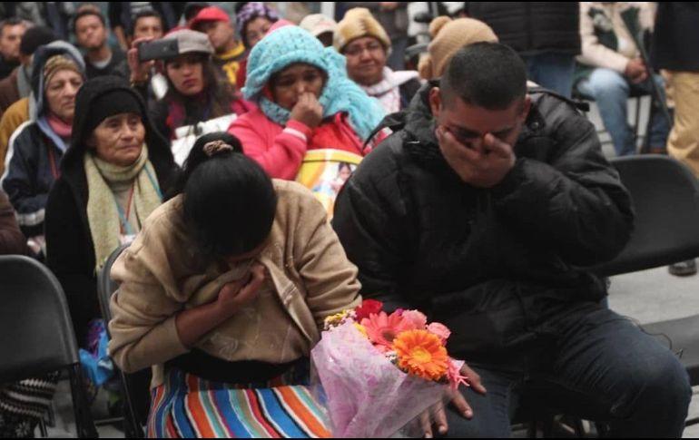 Gracias a las caravanas, se han localizado a 279 migrantes con vida y dos fallecidos. EL INFORMADOR / E. Barrera