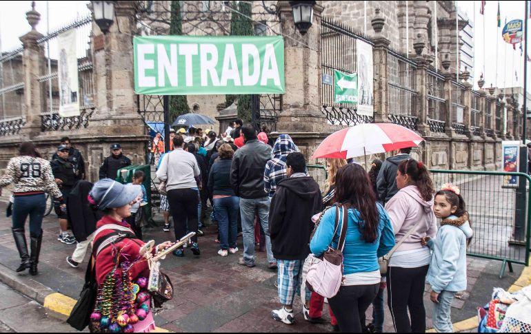 Esperan en el Santuario de Guadalupe a más de 770 mil fieles