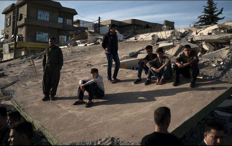 Sismo de magnitud 5.4 vuelve a sacudir frontera entre Irán e Irak