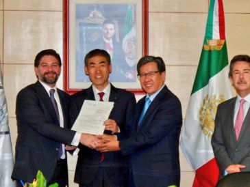 El Banco Shinhan de México es filial del banco comercial surcoreano Shinhan Bank, perteneciente al Shinhan Financial Group. TWITTER / @cnbvmx