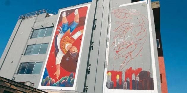 Un mural para alzar la mirada al hotel f nix el for El mural guadalajara