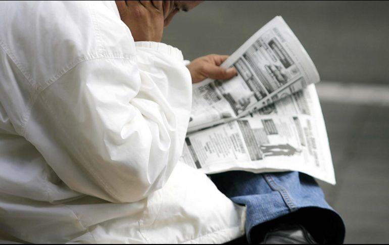 Crece desempleo en noviembre, reporta el Inegi