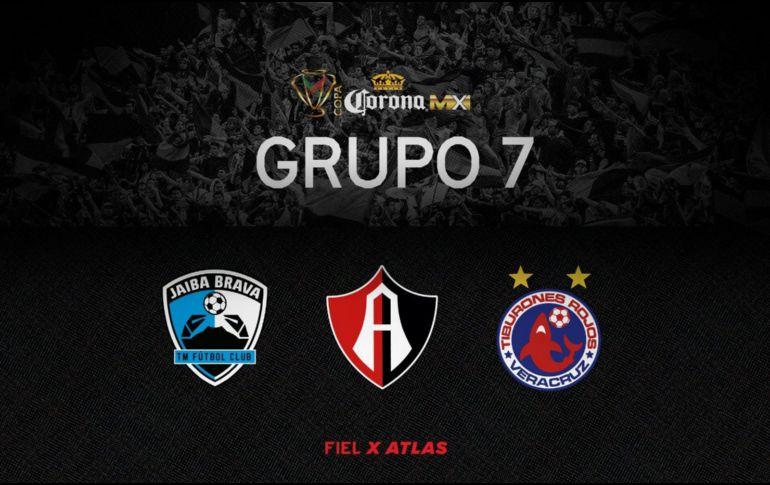 Quedan definidos los grupos de la Copa MX