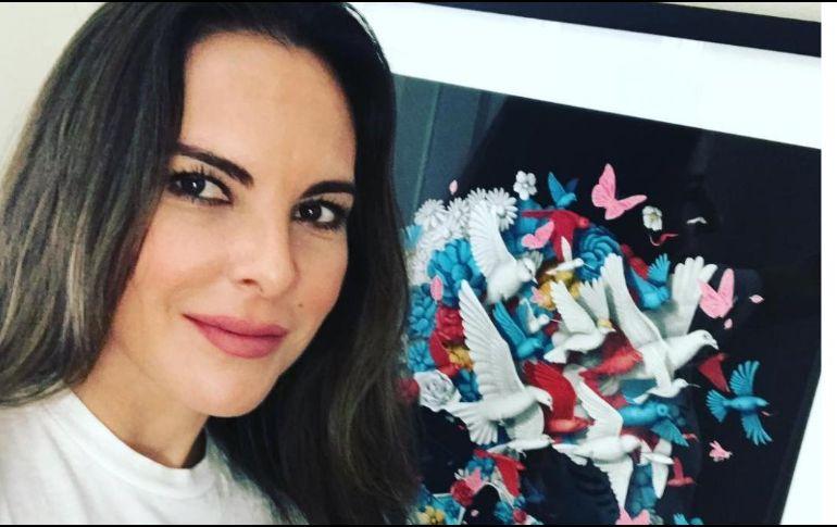Hackearon a Kate del Castillo y difundieron fotos íntimas