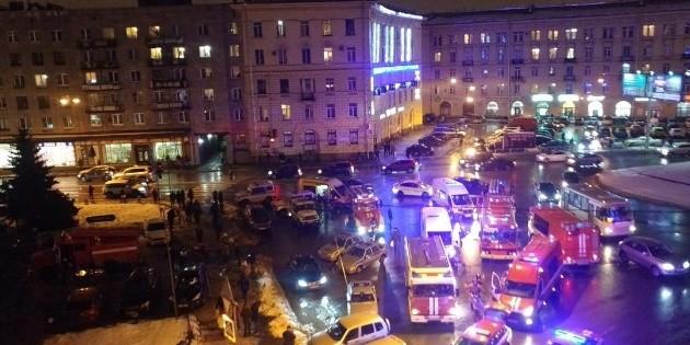 Explosión en Rusia: al menos 10 heridos y uno de gravedad