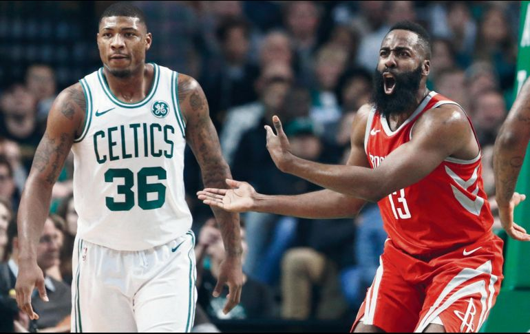 Con gran remontada, Celtics superan a Rockets
