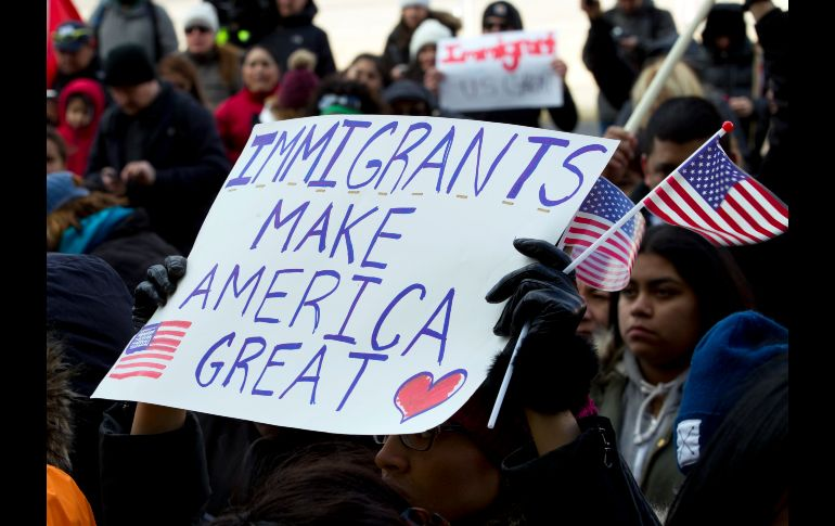 Day Without Immigrants - Supporters of immigrants
