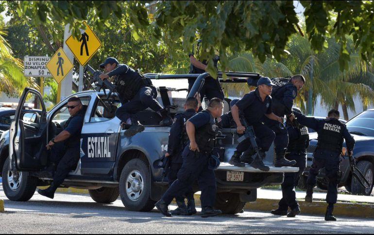 Sicarios atacan a policías ministeriales en Cancún