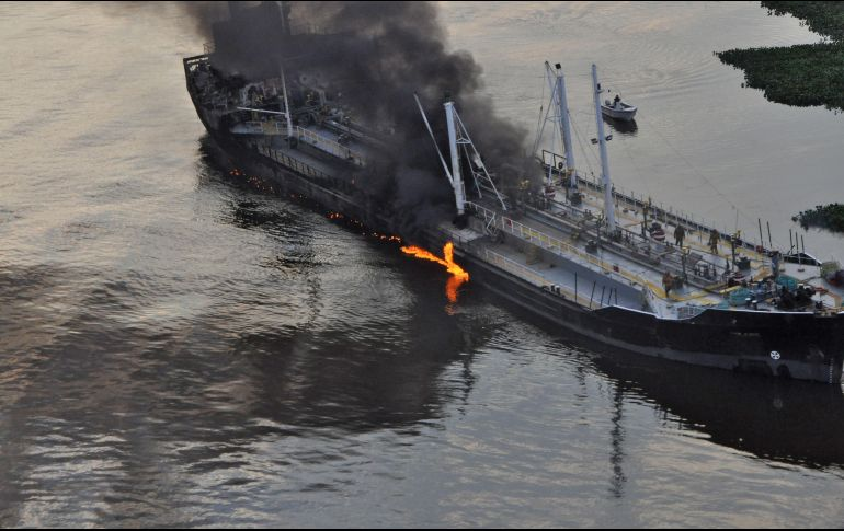 Accidente en las costas del este de China