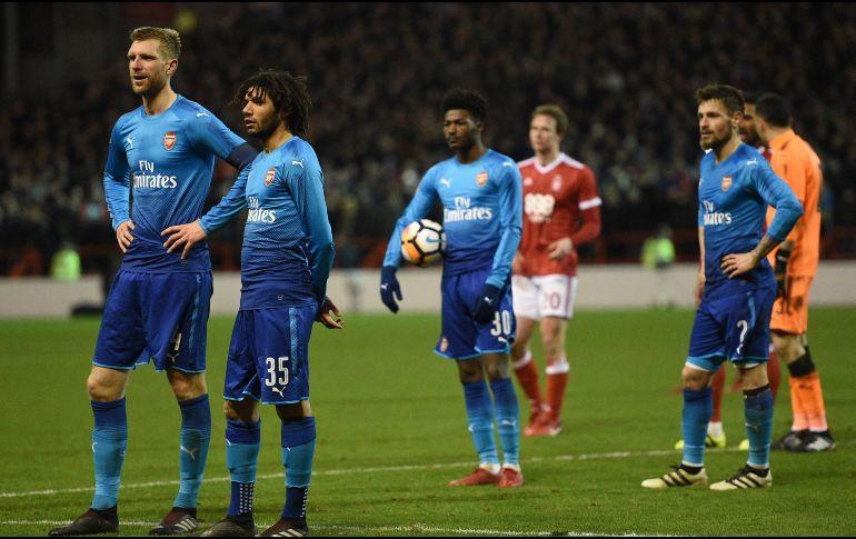 Arsenal, eliminado por un equipo de Segunda División — FA Cup