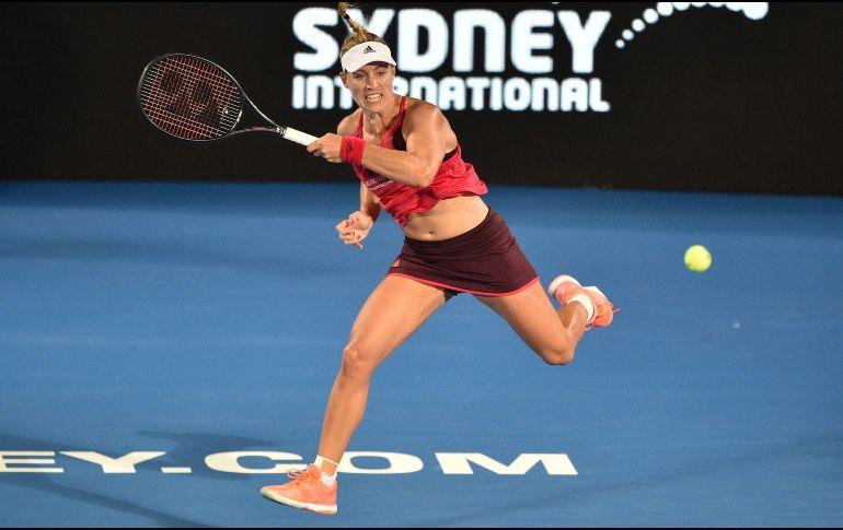 Angelique Kerber derrota a Venus Wiliams en torneo de Sidney