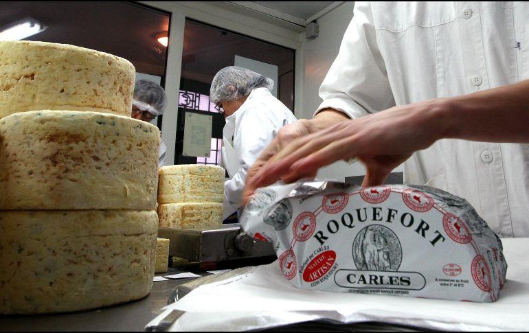 Entre los más de 300 productos de los que la UE pide el reconocimiento se encuentran 57 quesos. AP/Archivo