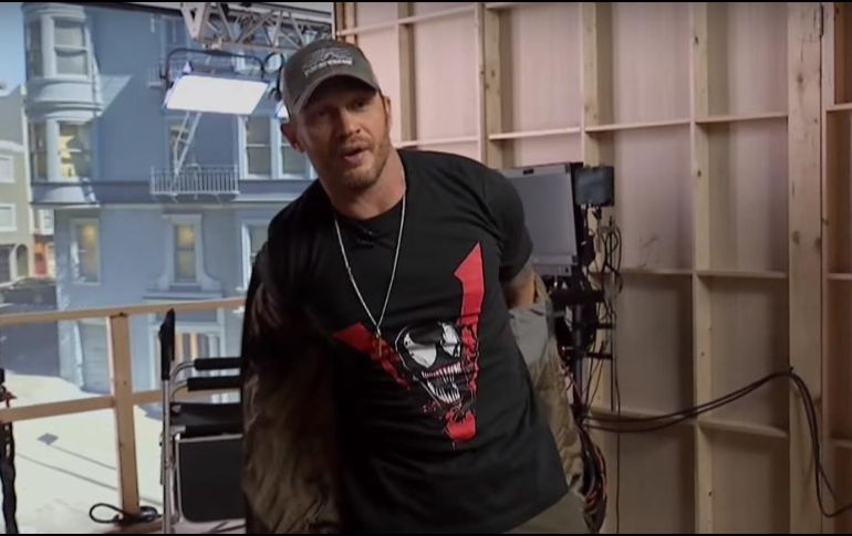 Revelan primera imagen oficial de Tom Hardy en 'Venom'