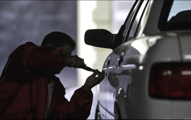 Los 15 vehículos más robados en México