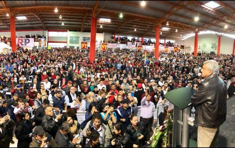 López Obrador aseguró que no dejará que el mandatario de Estados Unidos insulte al país.  TWITTER/ @lopezobrador_