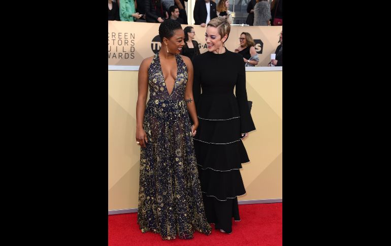 Samira Wiley y Lauren Morelli.