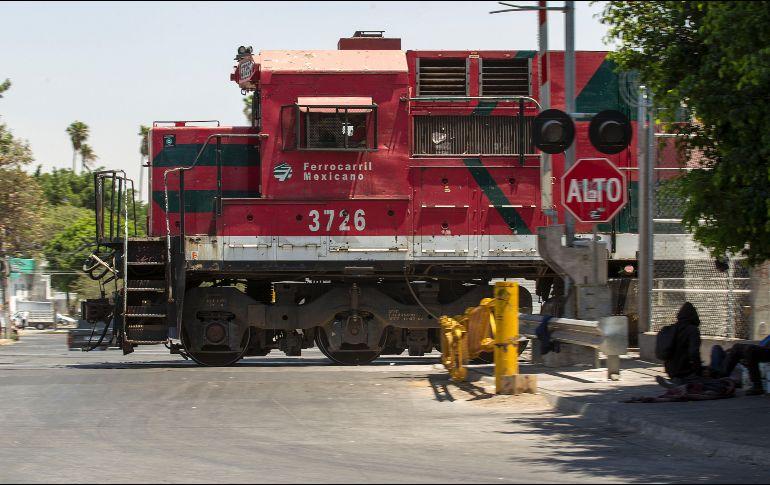 Las industria minera, cementera y energética necesitarán dicha inversión ferroviaria. EL INFORMADOR/Archivo
