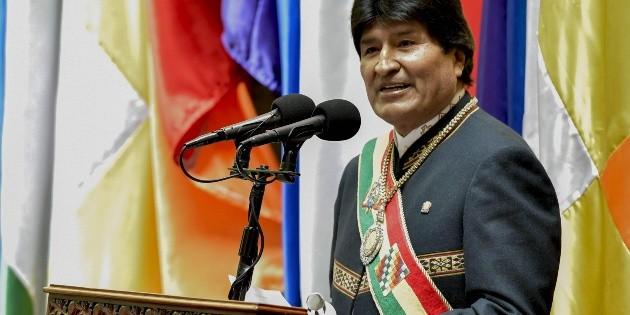 Evo Morales celebra 12 años al frente del poder en Bolivia