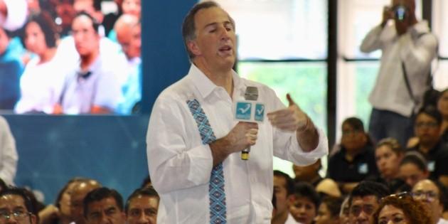 Meade presenta cinco puntos para combatir violencia y crimen