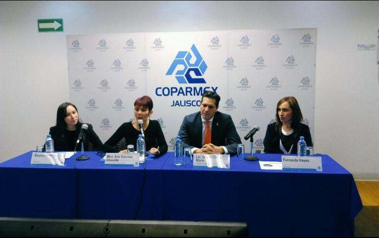 Al presentar los resultados de la Cuarta Encuesta del Emprendedor, aplicada a 200 personas que han tenido acercamiento con la Coparmex, destacan que hay mayor optimismo este año entre los emprendedores. TWITTER / @garzamarin
