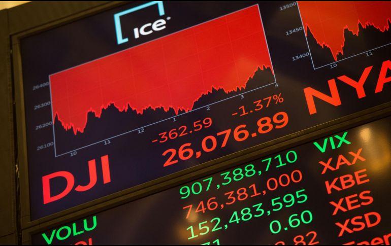 Wall Street cierra con pérdidas presionado por resultados de Apple