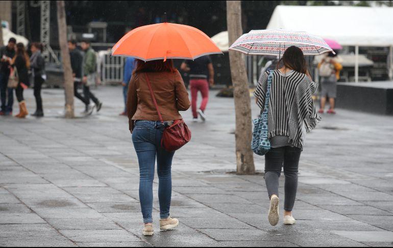 Lluvias y más frío por el frente 25