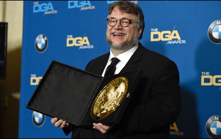 Guillermo Del Toro se mide por máximo honor de Sindicato de Directores