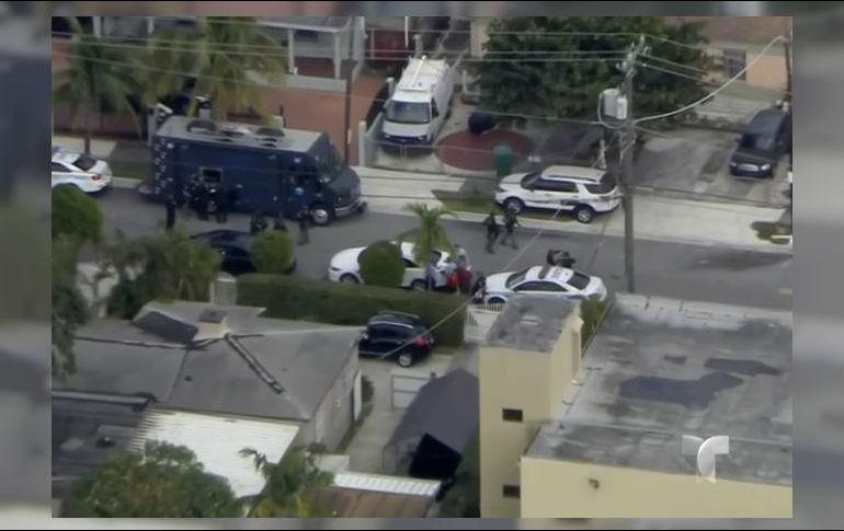 Sin rehenes ni arrestos termina cerco policial en miami el informador noticias de jalisco - Cerco casa a miami ...