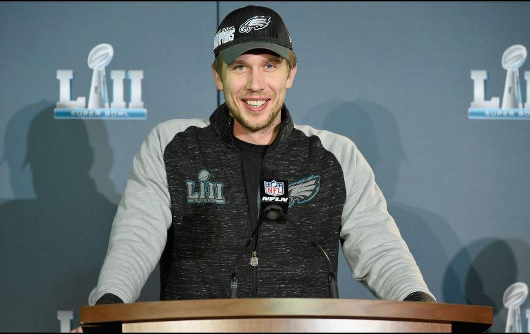 Aficionado de los Patriots se tatuó el Super Bowl LII
