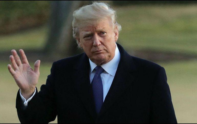 Dos semanas atrás Trump presentó una propuesta migratoria, con la expectativa de que pudiera servir como base para una eventual iniciativa legislativa a ser discutida en el senado. EFE / C. Somodevilla