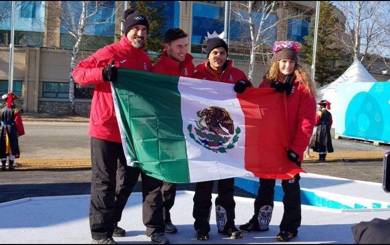 Atletas mexicanos cumplen con rutinas de entrenamiento previo a pruebas