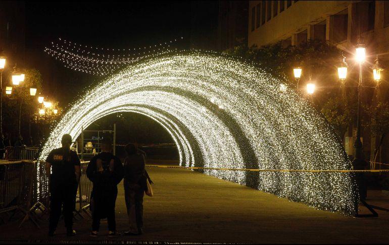 Todo est listo para iluminar guadalajara el informador Espectaculo de luces teotihuacan 2018