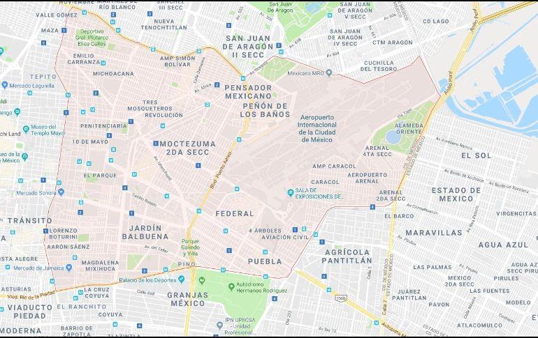 Se registró sismo con epicentro en la delegación Venustiano Carranza