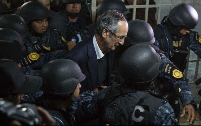 Capturan al expresidente de Guatemala Álvaro Colom