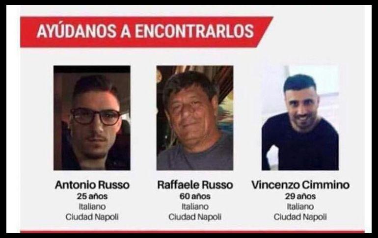Fiscalía mexicana busca a tres italianos desaparecidos en el oeste del país