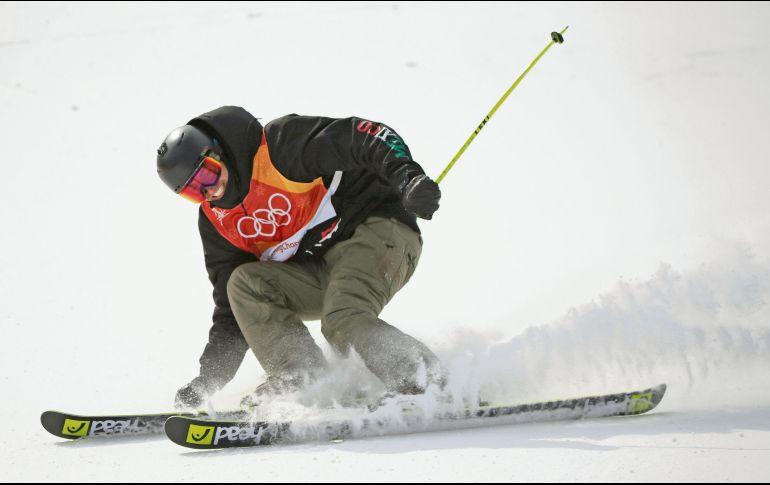 PyeongChang 2018: Termina Rodolfo Dickson en el lugar 48 del Slalom Gigante