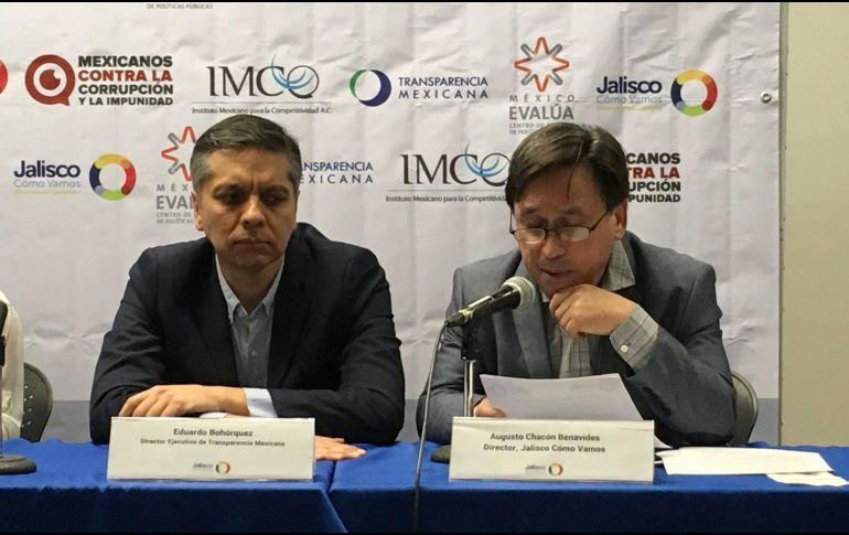 Augusto Chacón indicó que esta alianza permitirá que Jalisco Cómo Vamos tenga una mayor proyección a nivel nacional. TWITTER / @jaliscomovamos