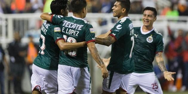 Chivas derrota al Cibao en Concachampions