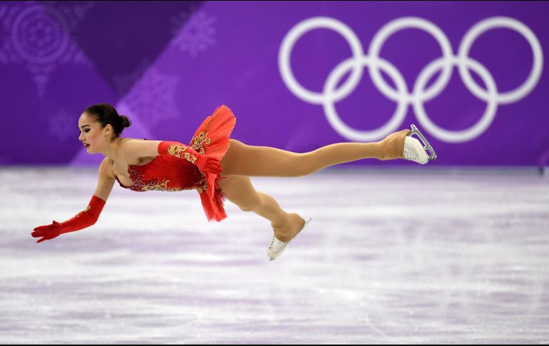 Destacó por su triple flip/doble toe-loop/doble loop y su letal triple Lutz/triple loop. AFP/K. Kudryavtsev