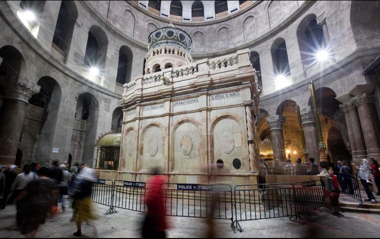 Cierran el Santo Sepulcro de Jerusalén en protesta por impuestos