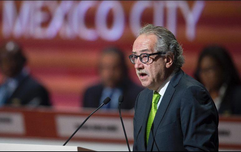 Renuncia presidente de Federación Mexicana de Fútbol — Fútbol
