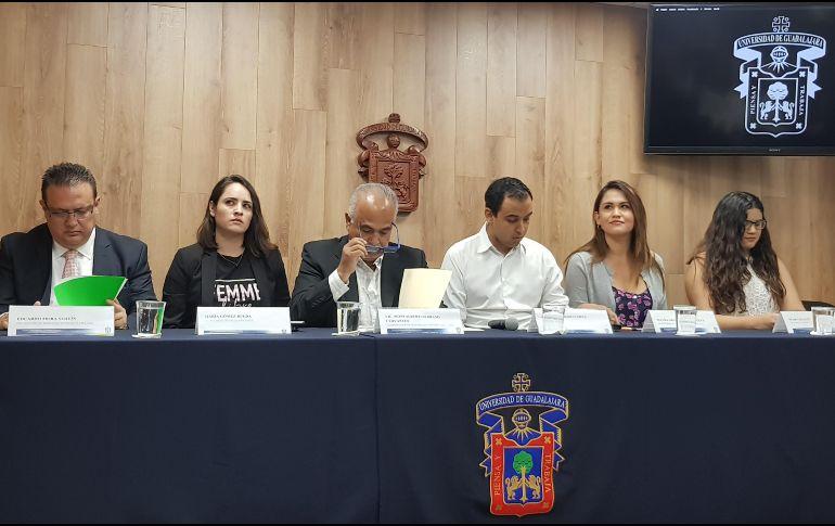 La FEU llamó a realizar una concentración estudiantil el viernes 9 de marzo en la explanada de la Rectoría de la Universidad de Guadalajara (UdeG) a las 11:00 horas. EL INFORMADOR/ R. Bobadilla