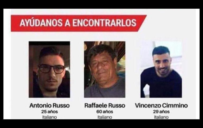 Policías italianos investigarán en México la desaparición de compatriotas