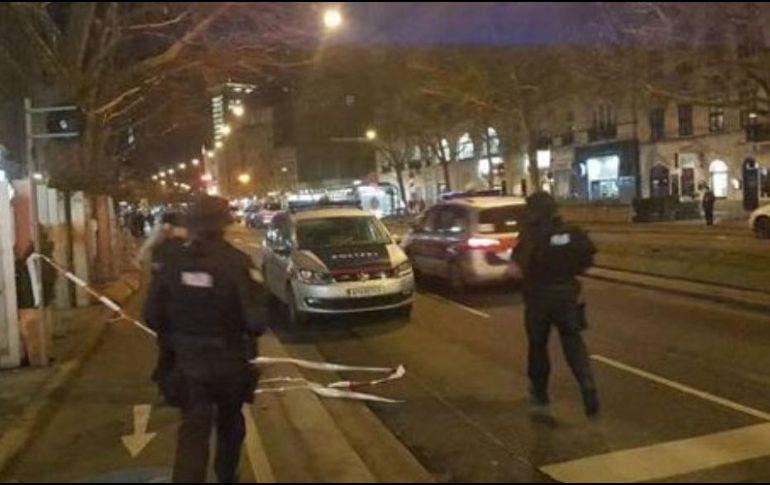 Tres personas resultaron heridas durante un ataque en Viena (+fotos)