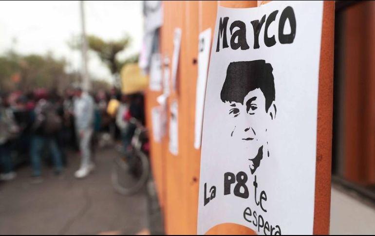 Marco Antonio, estudiante desaparecido, trató de escapar de hospital
