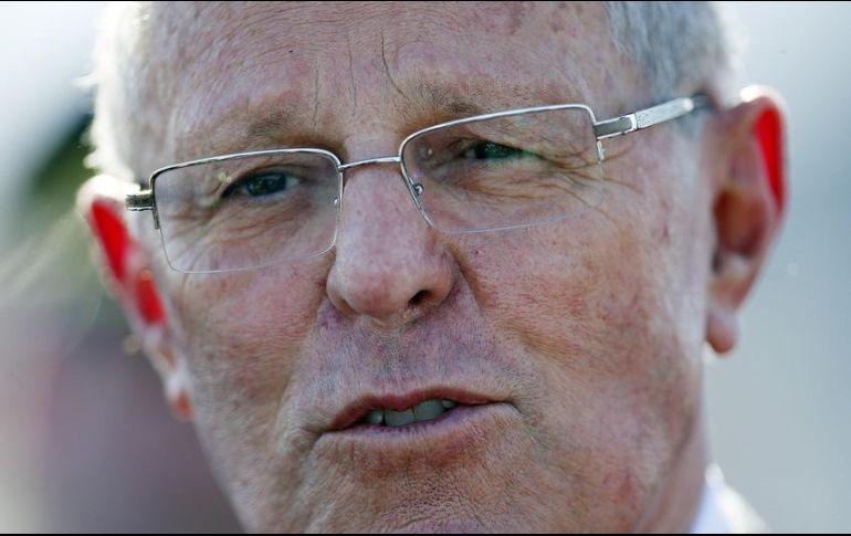 Kuczynski ya salvó una destitución en diciembre pasado gracias a la abstención de un grupo fujimorista en el Congreso. EFE  ARCHIVO